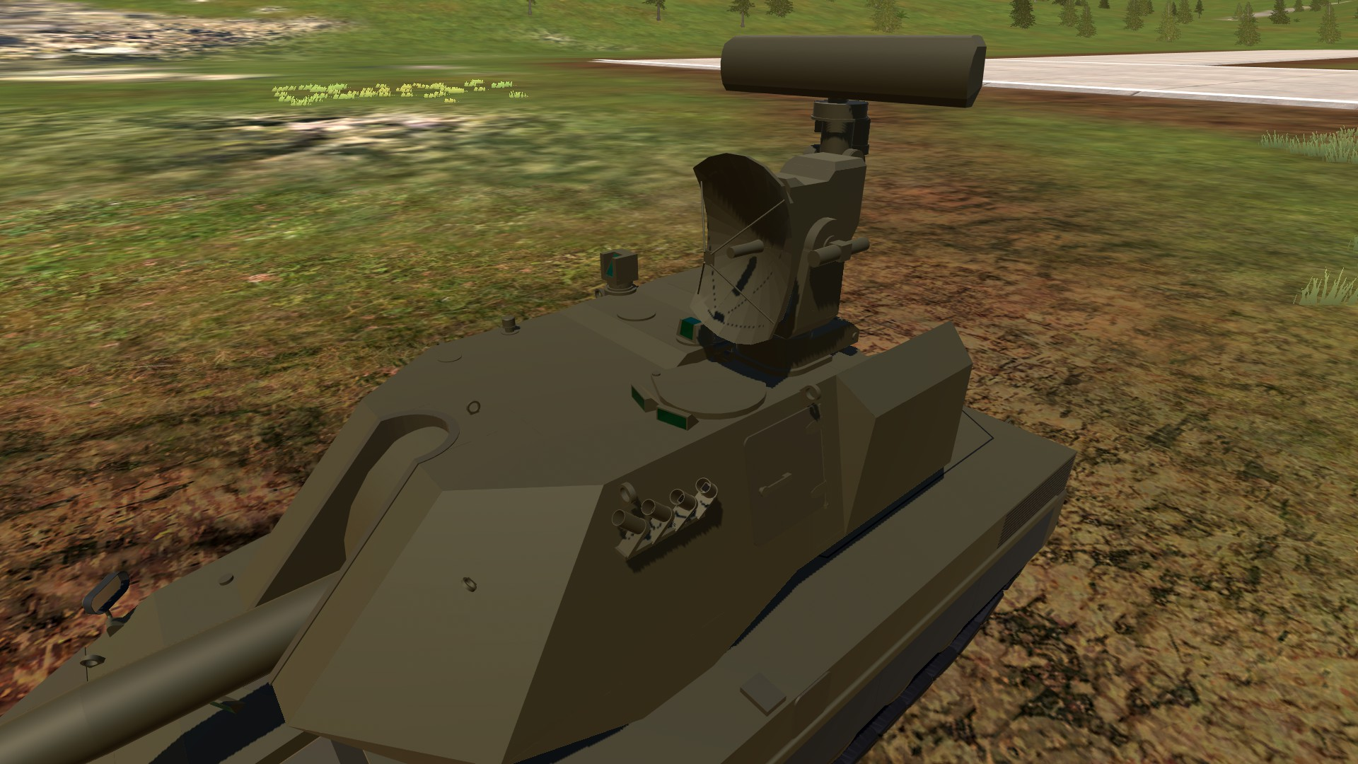 Deploying the radar