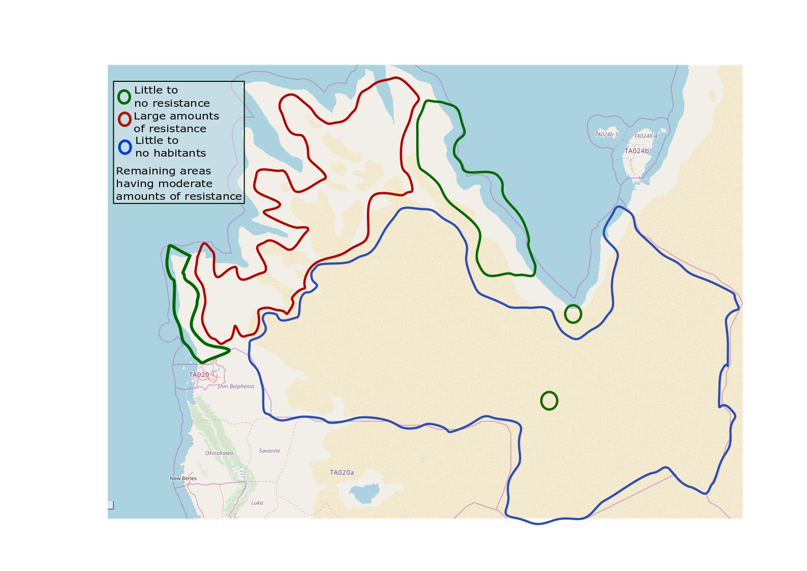 Gharbiya colonial map
