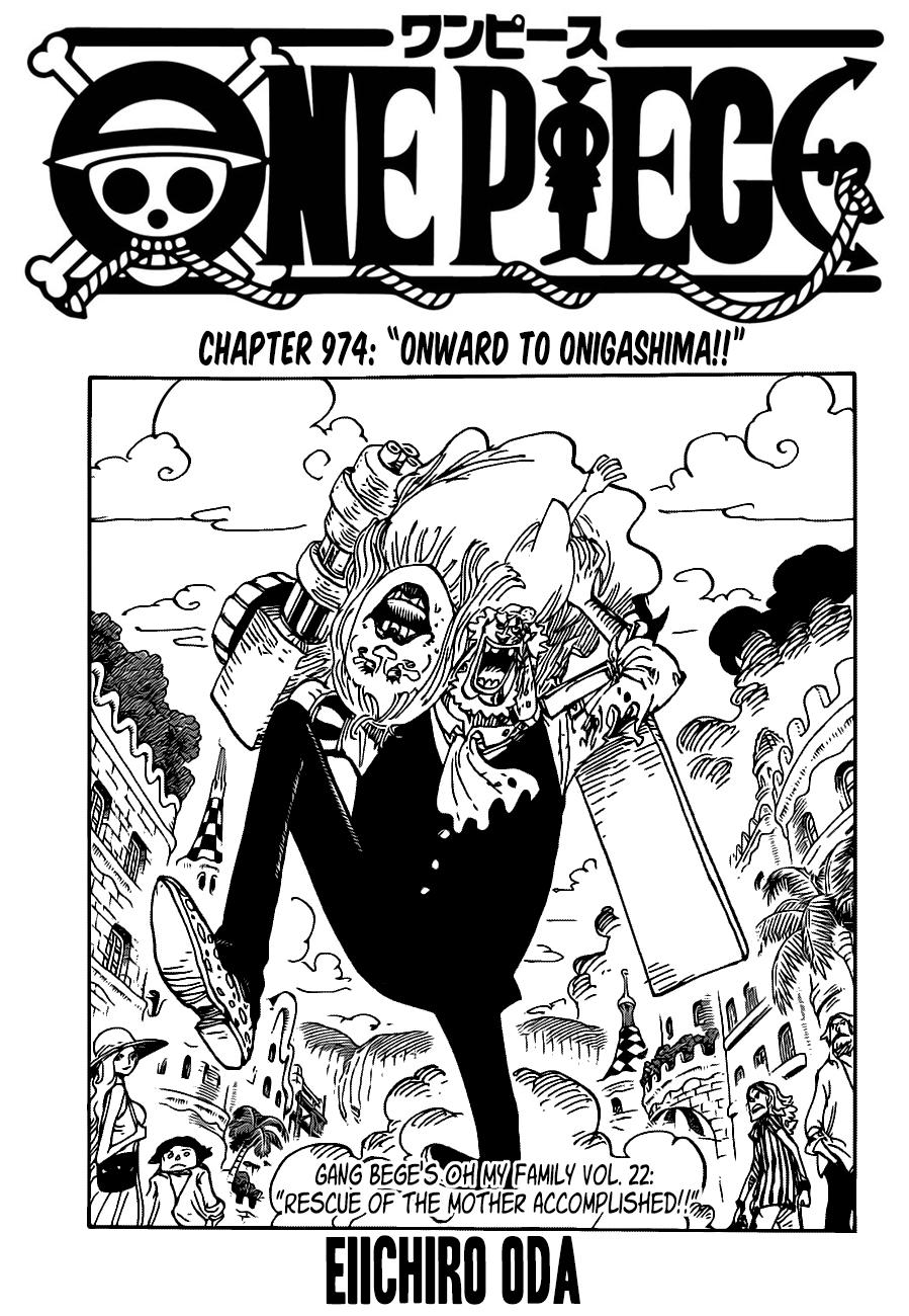 One Piece Manga 974 [Inglés] [Reddit] 01