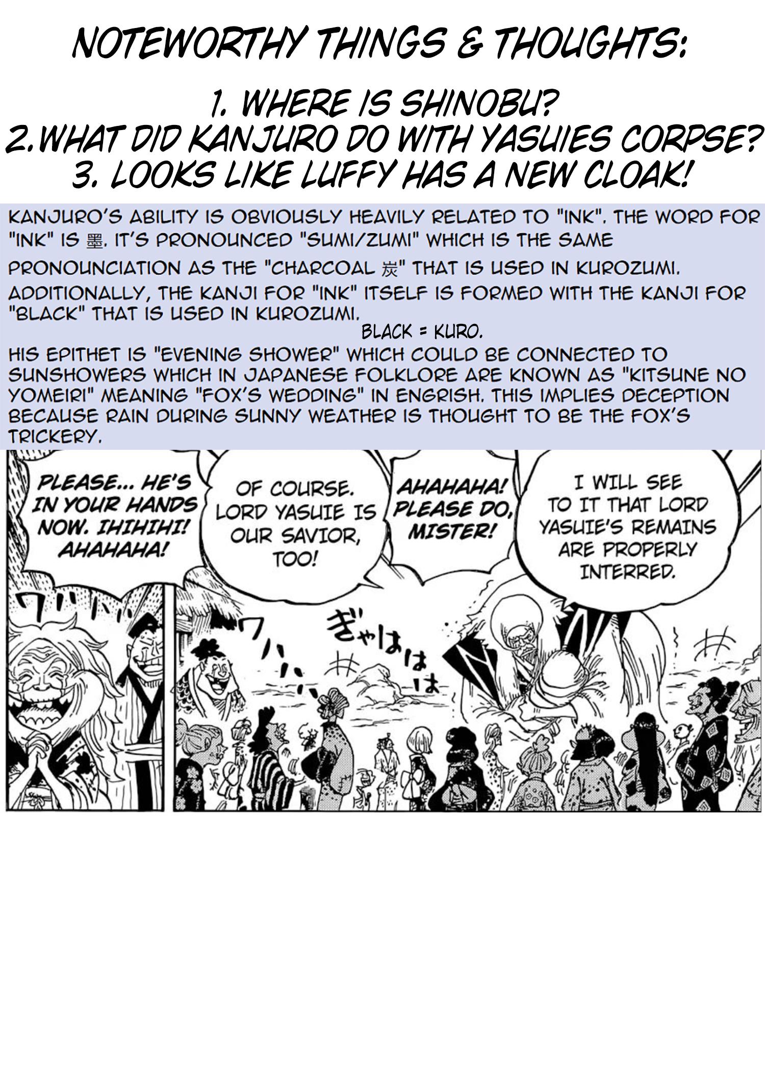 One Piece Manga 974 [Inglés] [Reddit] 16