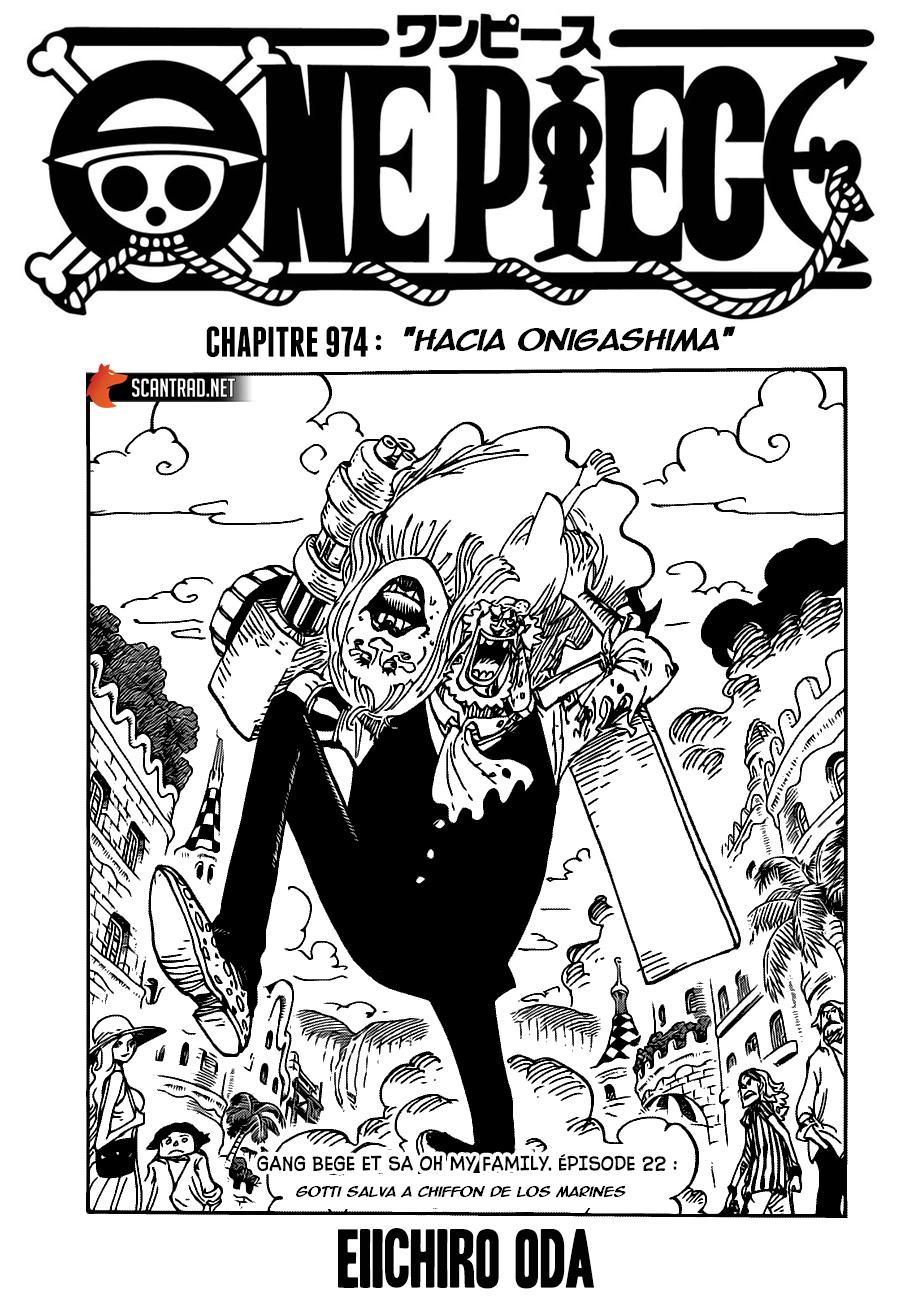 One Piece Manga 980-960 [Español] 00