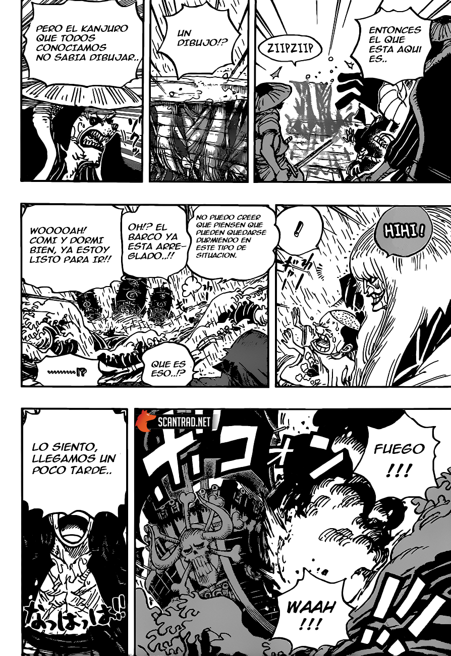 One Piece Manga 980-960 [Español] 12