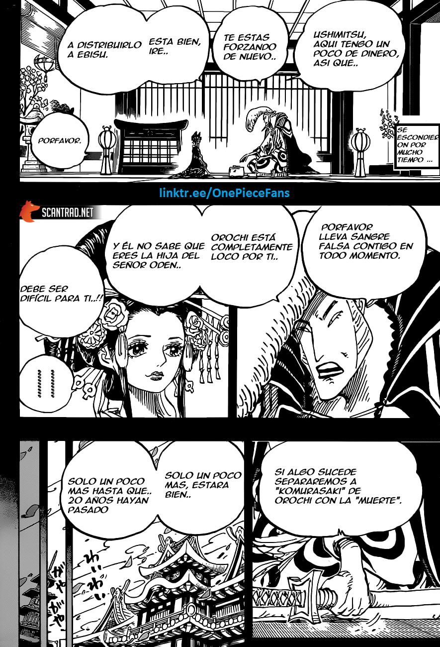 One Piece Manga 974 [Español] [OP Fans] 01
