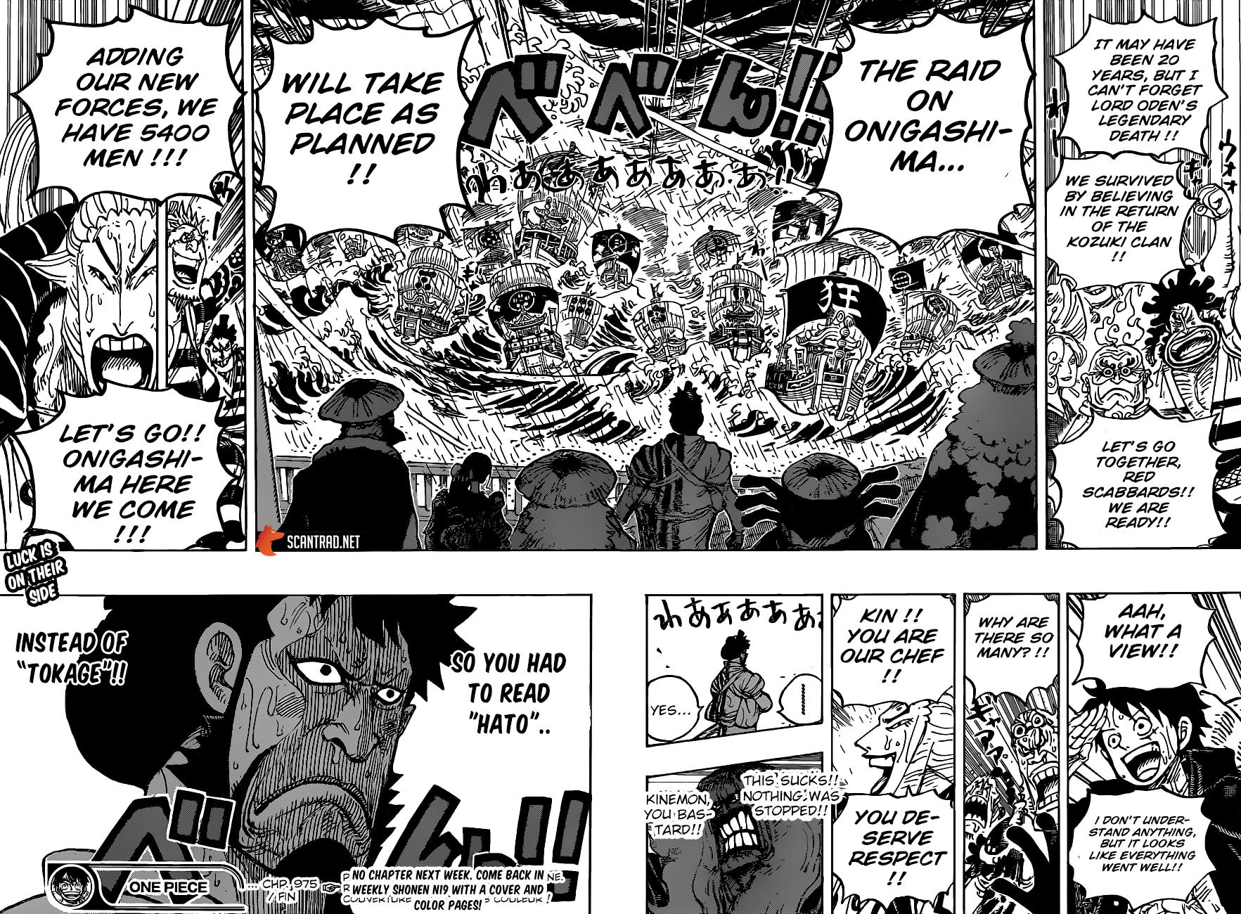 One Piece Manga 975 [Inglés] 16
