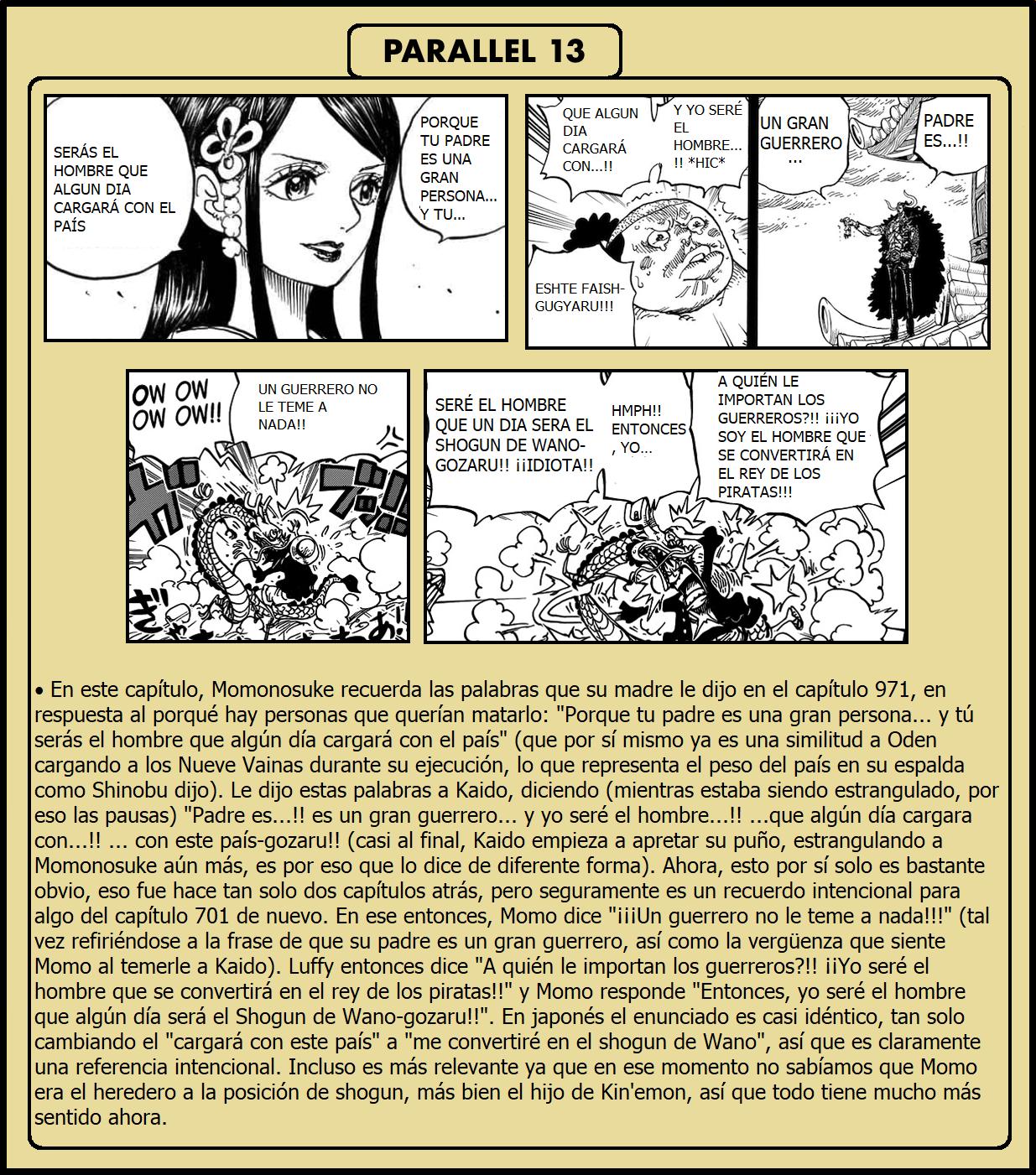 Secretos & Curiosidades - One Piece Manga 973 10