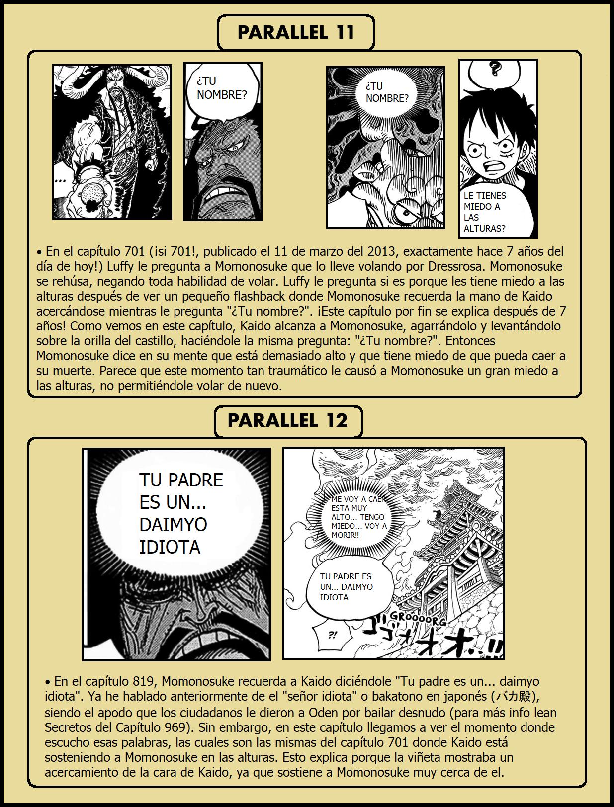 Secretos & Curiosidades - One Piece Manga 973 09