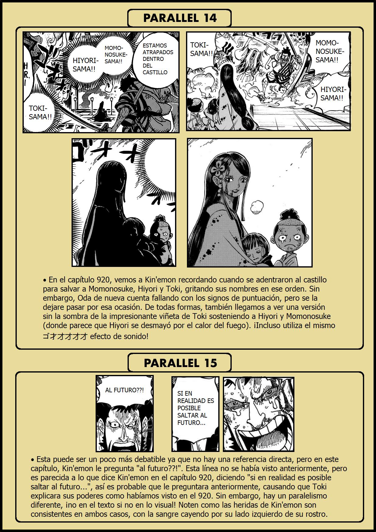 Secretos & Curiosidades - One Piece Manga 973 11