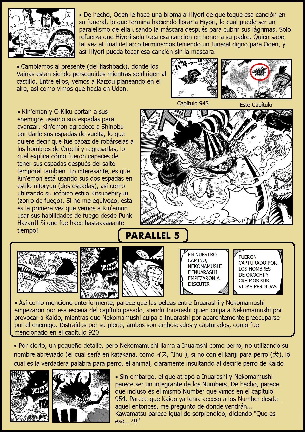 Secretos & Curiosidades - One Piece Manga 973 04