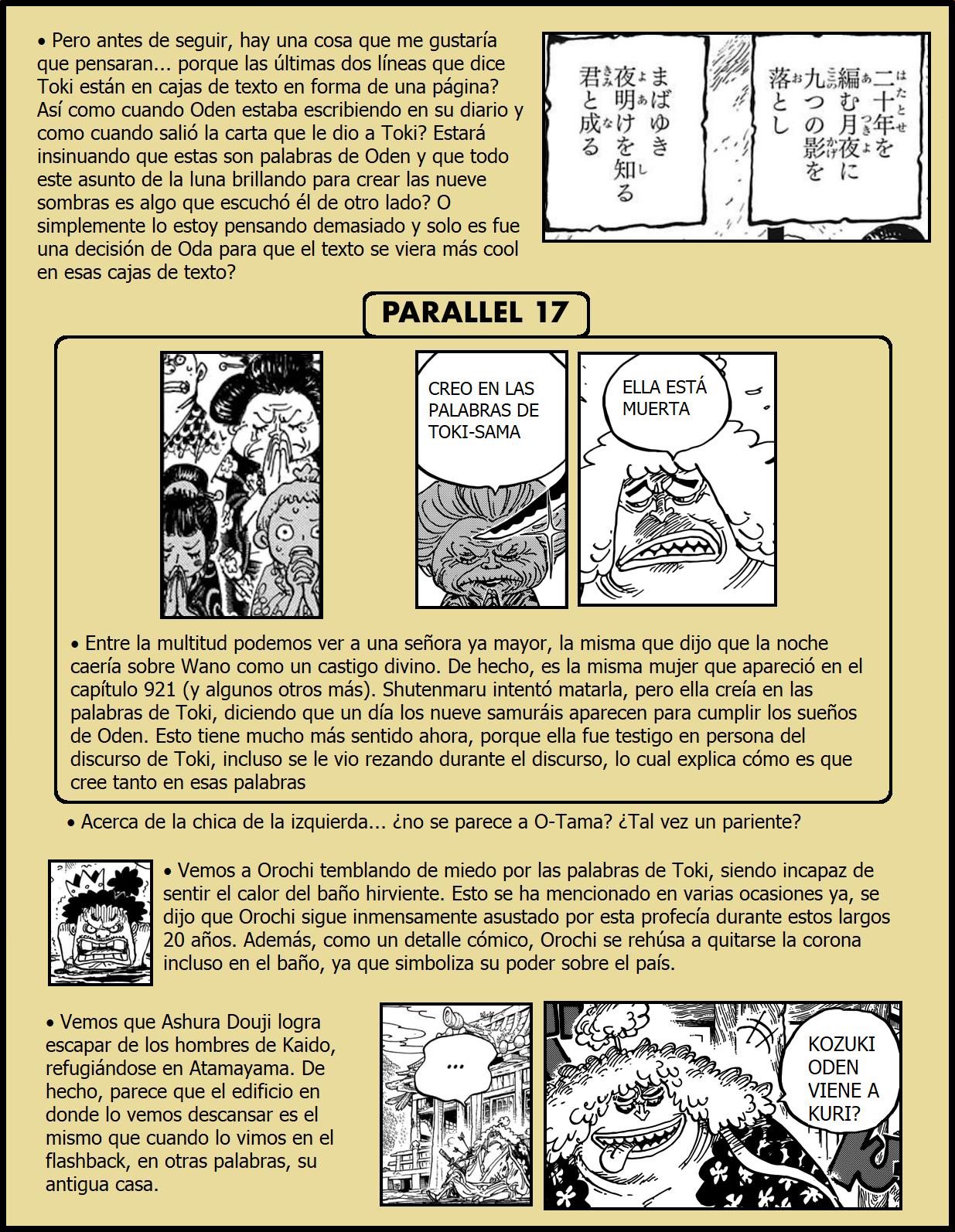 Secretos & Curiosidades - One Piece Manga 973 15
