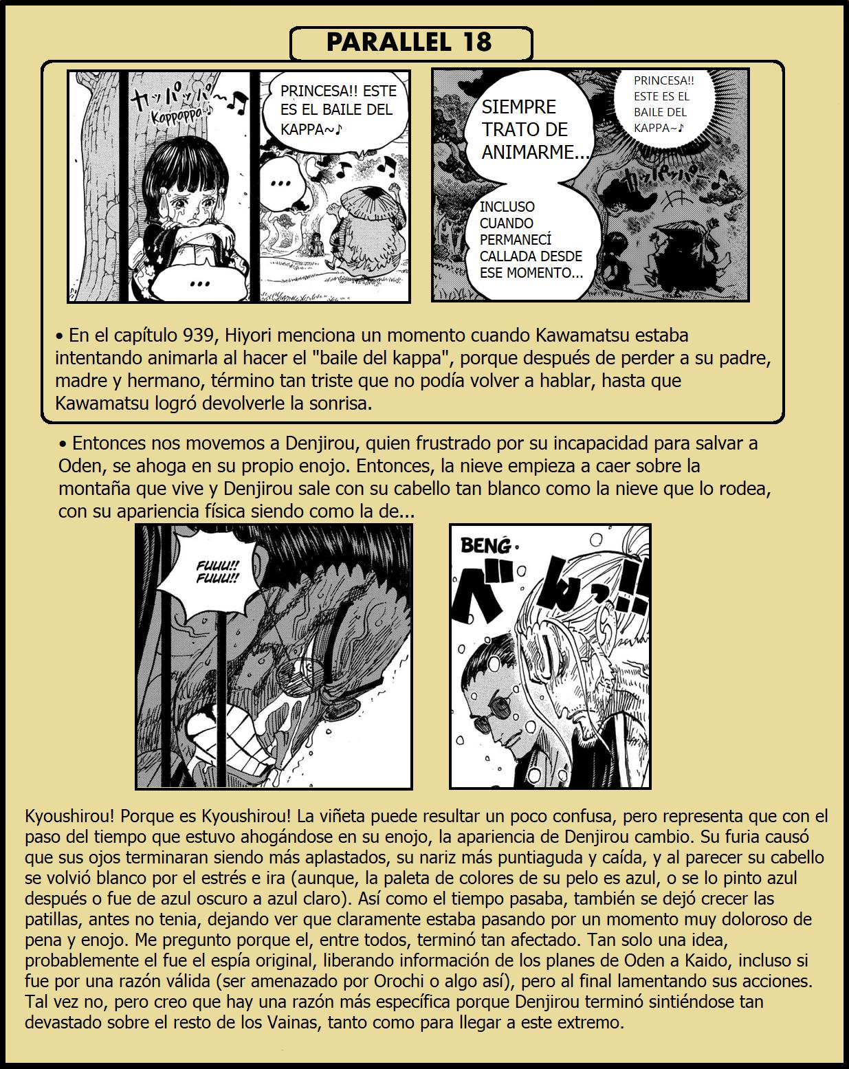 Secretos & Curiosidades - One Piece Manga 973 16