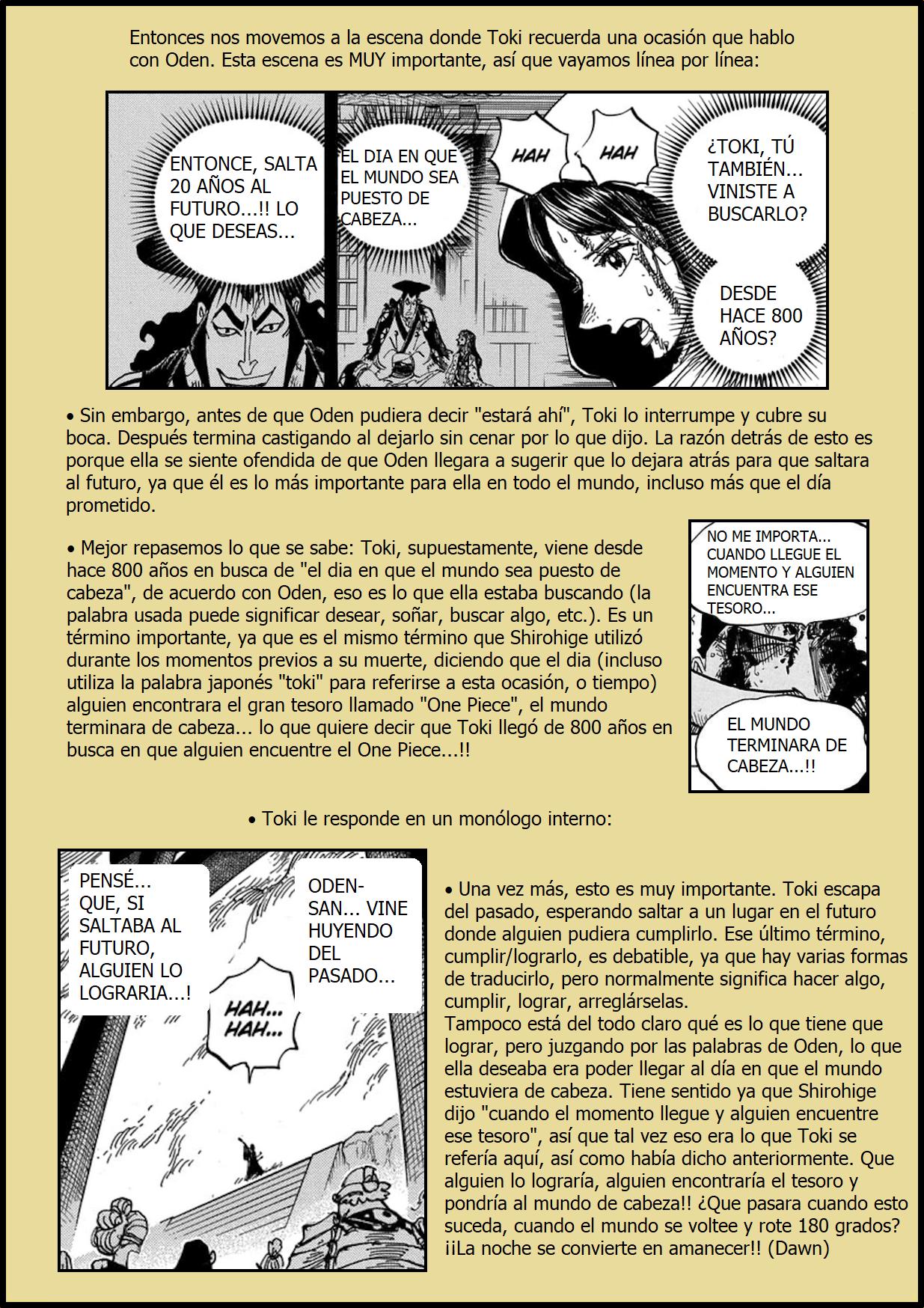 Secretos & Curiosidades - One Piece Manga 973 13