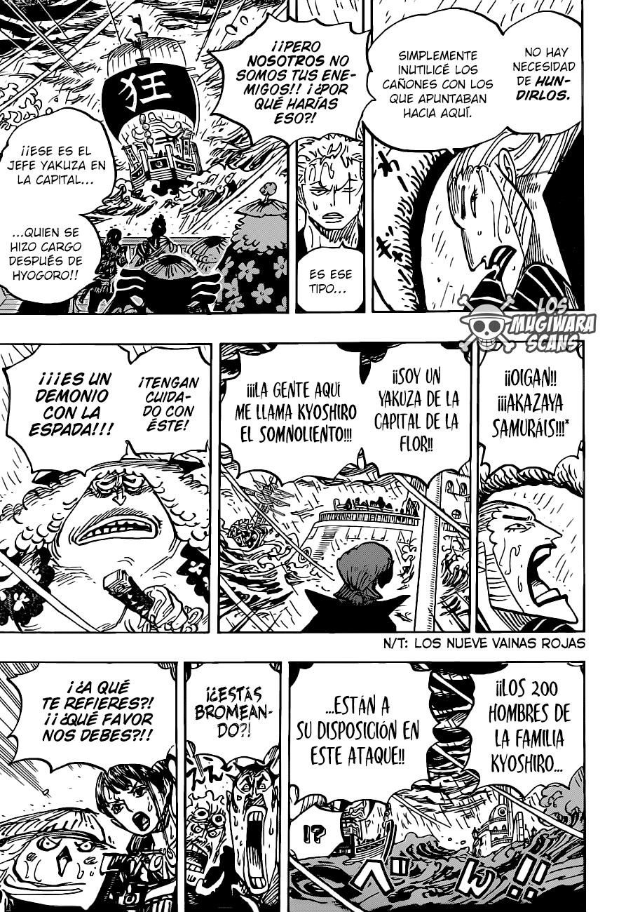 One Piece Manga 975 [Español] [Mugiwara Scans] 11