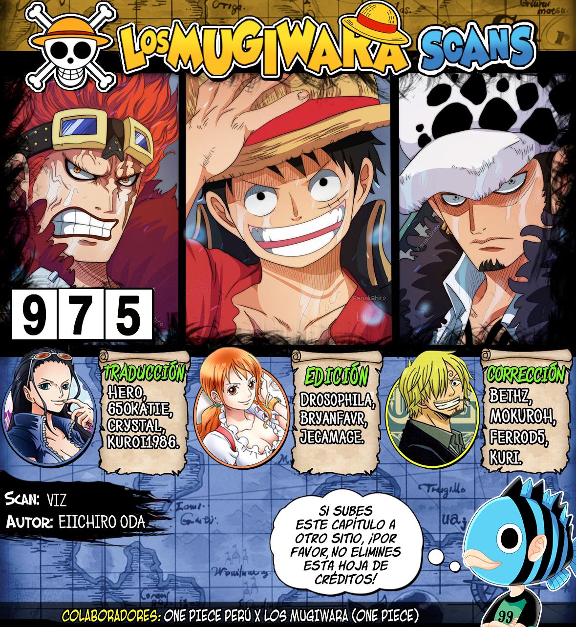 One Piece Manga 975 [Español] [Mugiwara Scans] 00