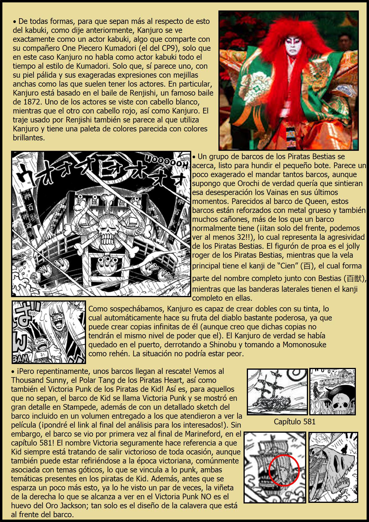 Secretos & Curiosidades - One Piece Manga 974 05