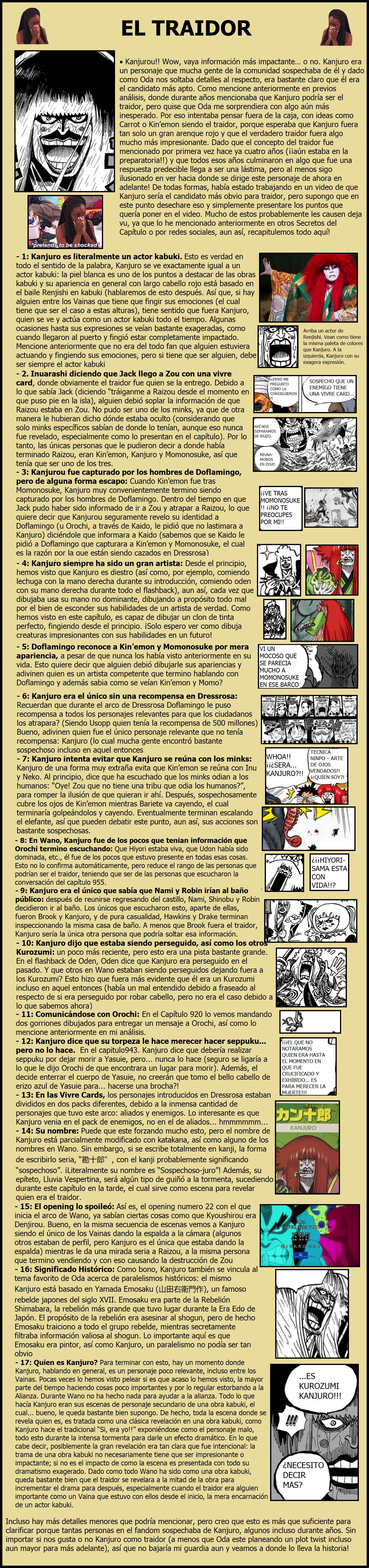 Secretos & Curiosidades - One Piece Manga 974 04