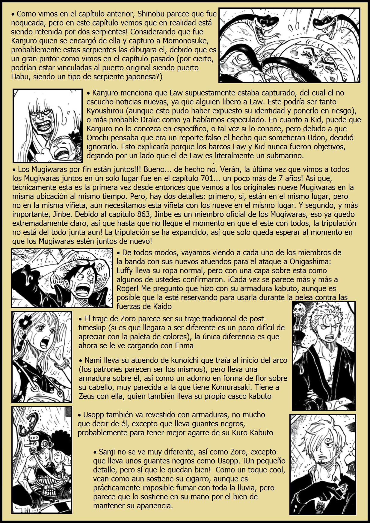 Secretos & Curiosidades - One Piece Manga 975 02