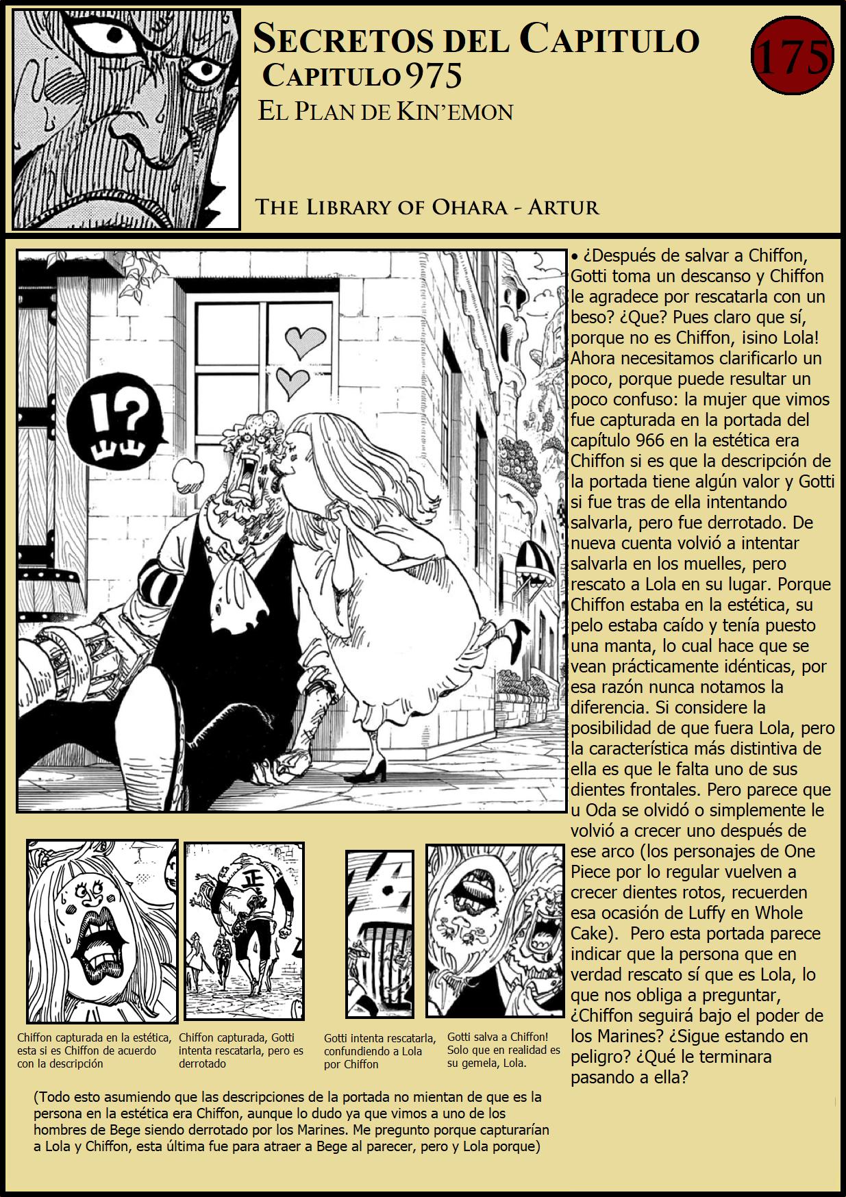 Secretos & Curiosidades - One Piece Manga 975 01