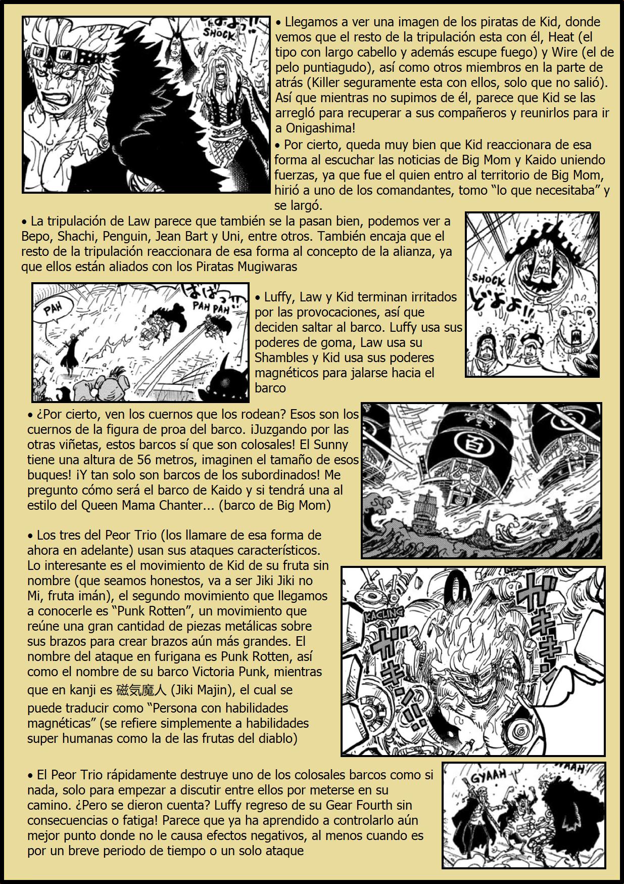 Secretos & Curiosidades - One Piece Manga 975 04