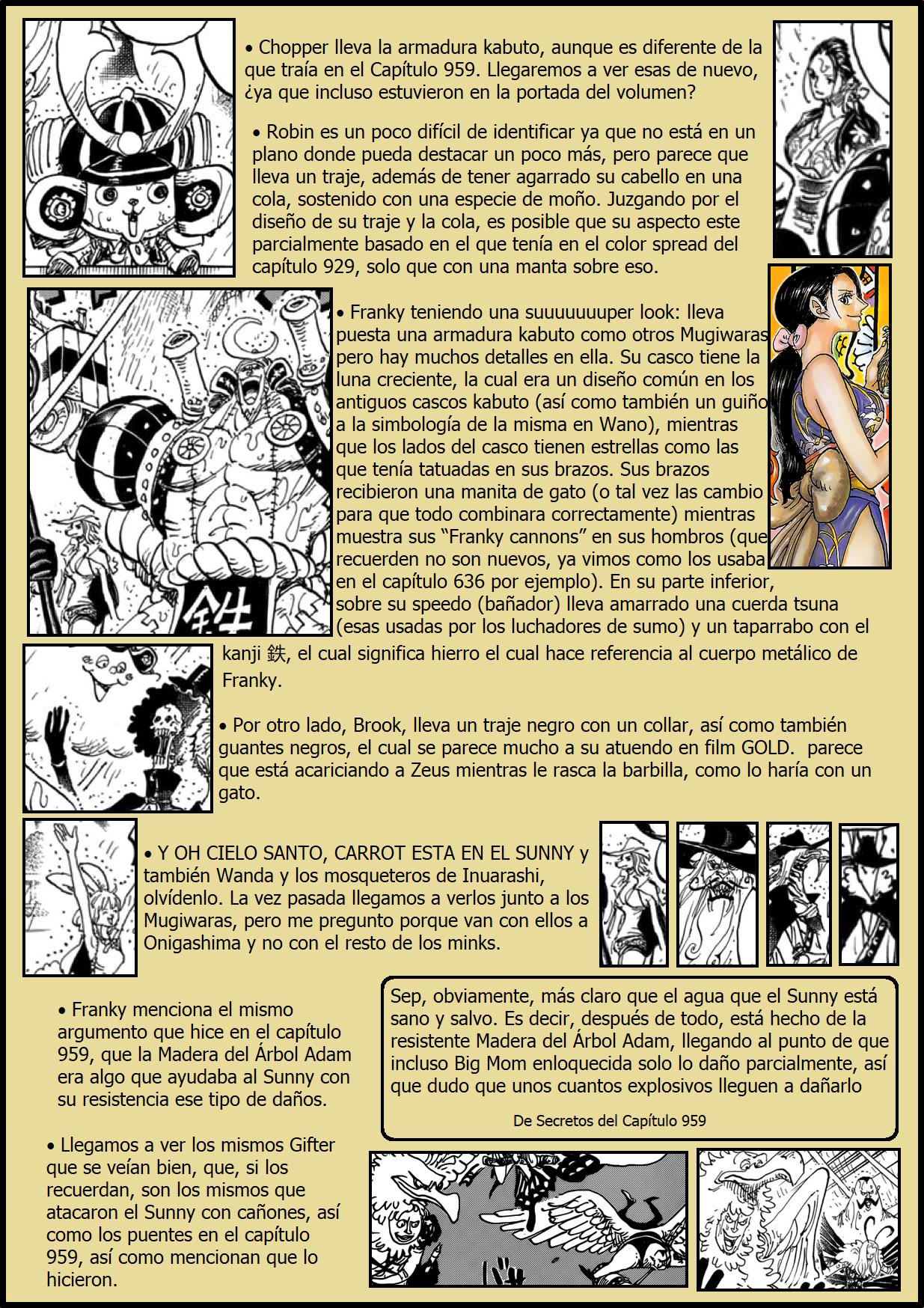 Secretos & Curiosidades - One Piece Manga 975 03