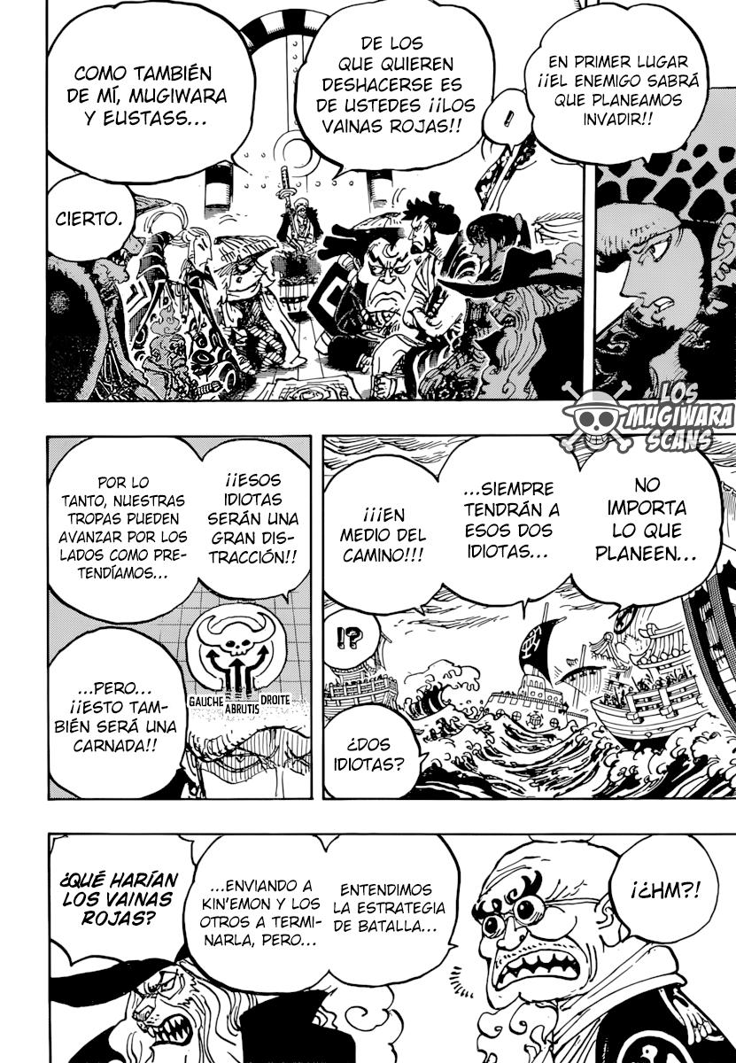 One Piece Manga 977 [Español] [Mugiwara Scans] 06