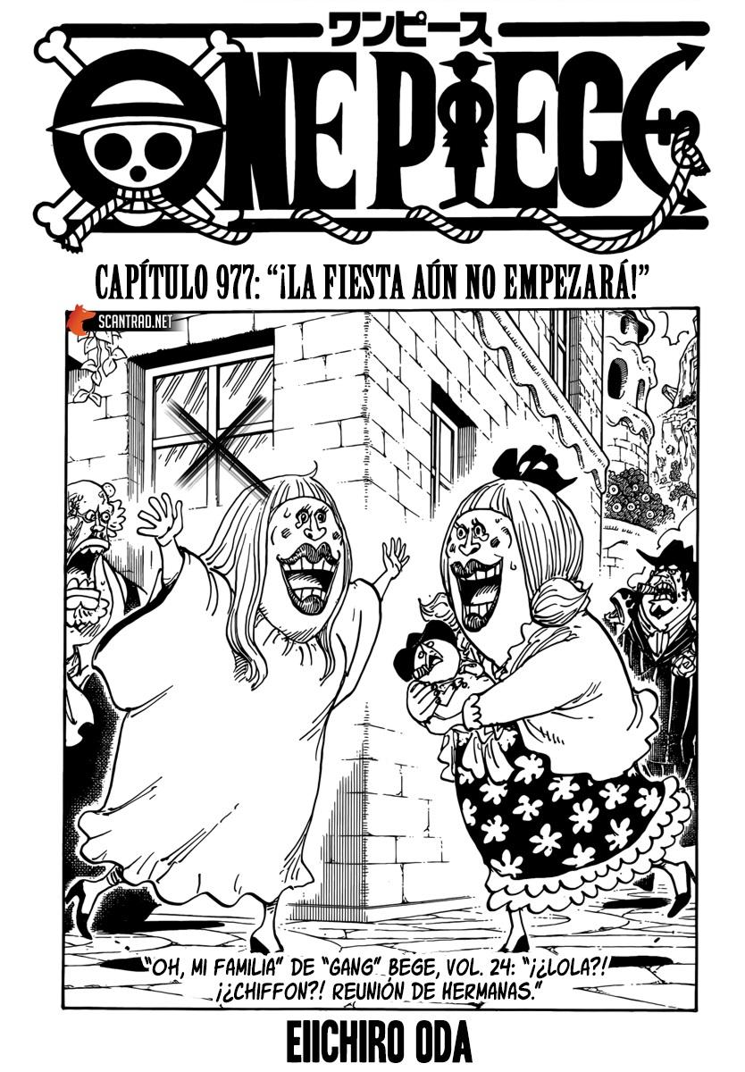 One Piece Manga 977 [Español] [OP Fans] 01