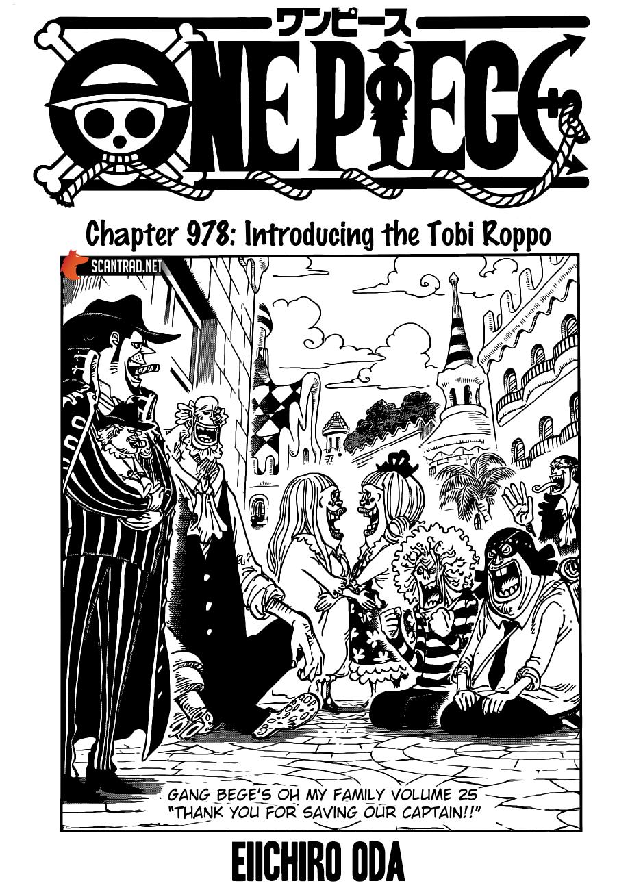 One Piece Manga 978 [Inglés] 00