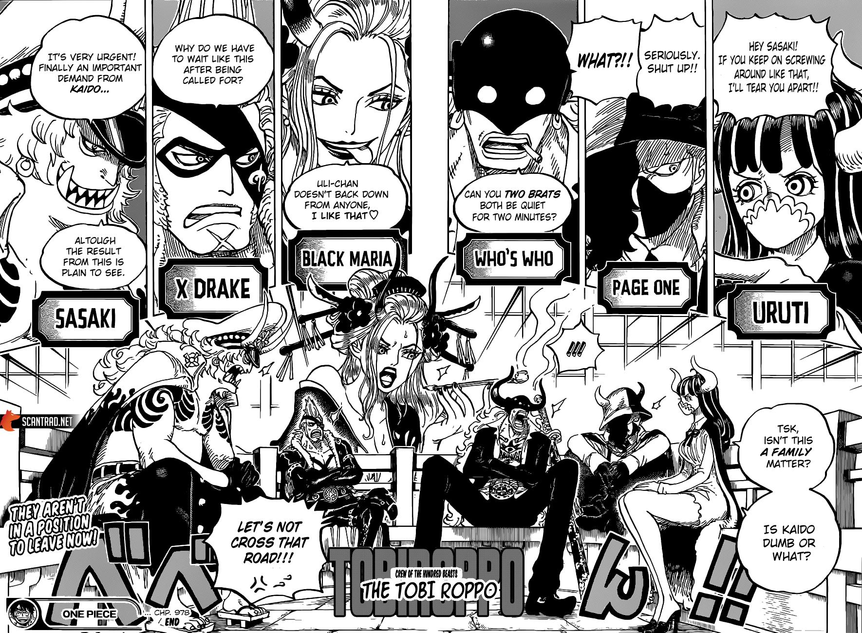 One Piece Manga 978 [Inglés] 13