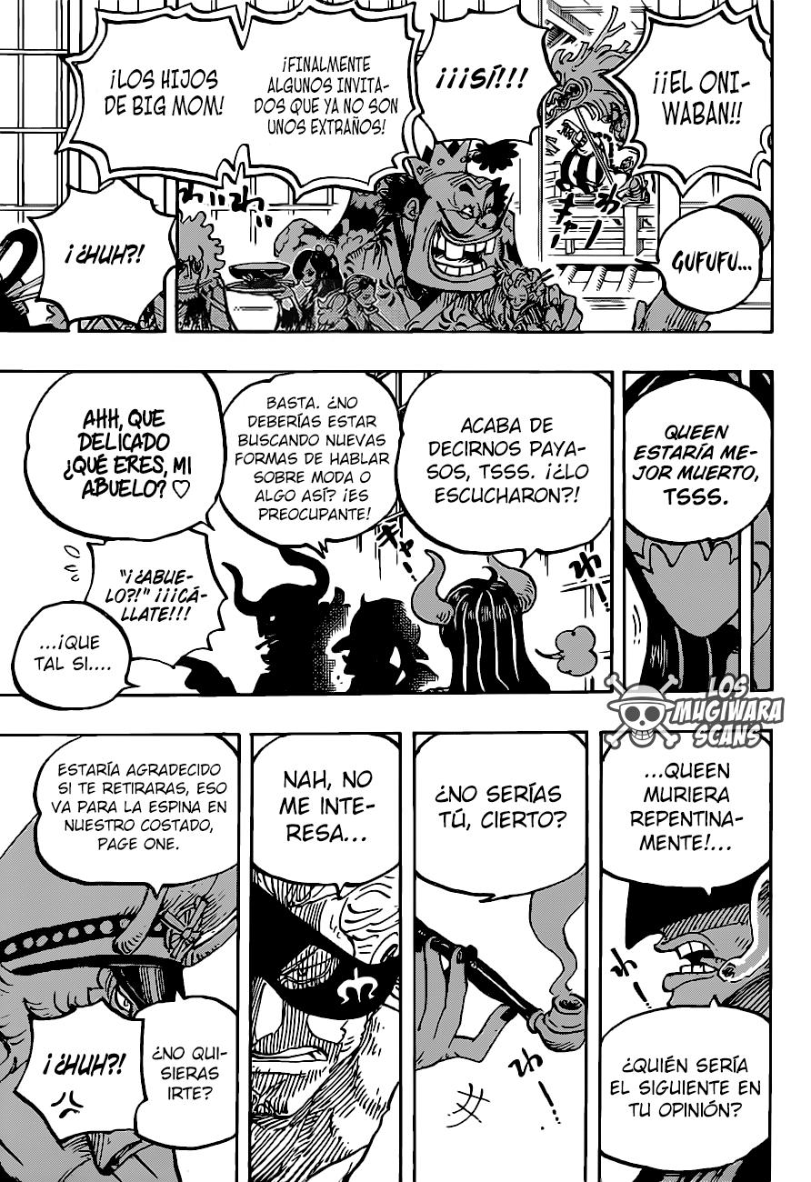 One Piece Manga 978 [Español] [Mugiwara Scans] 13