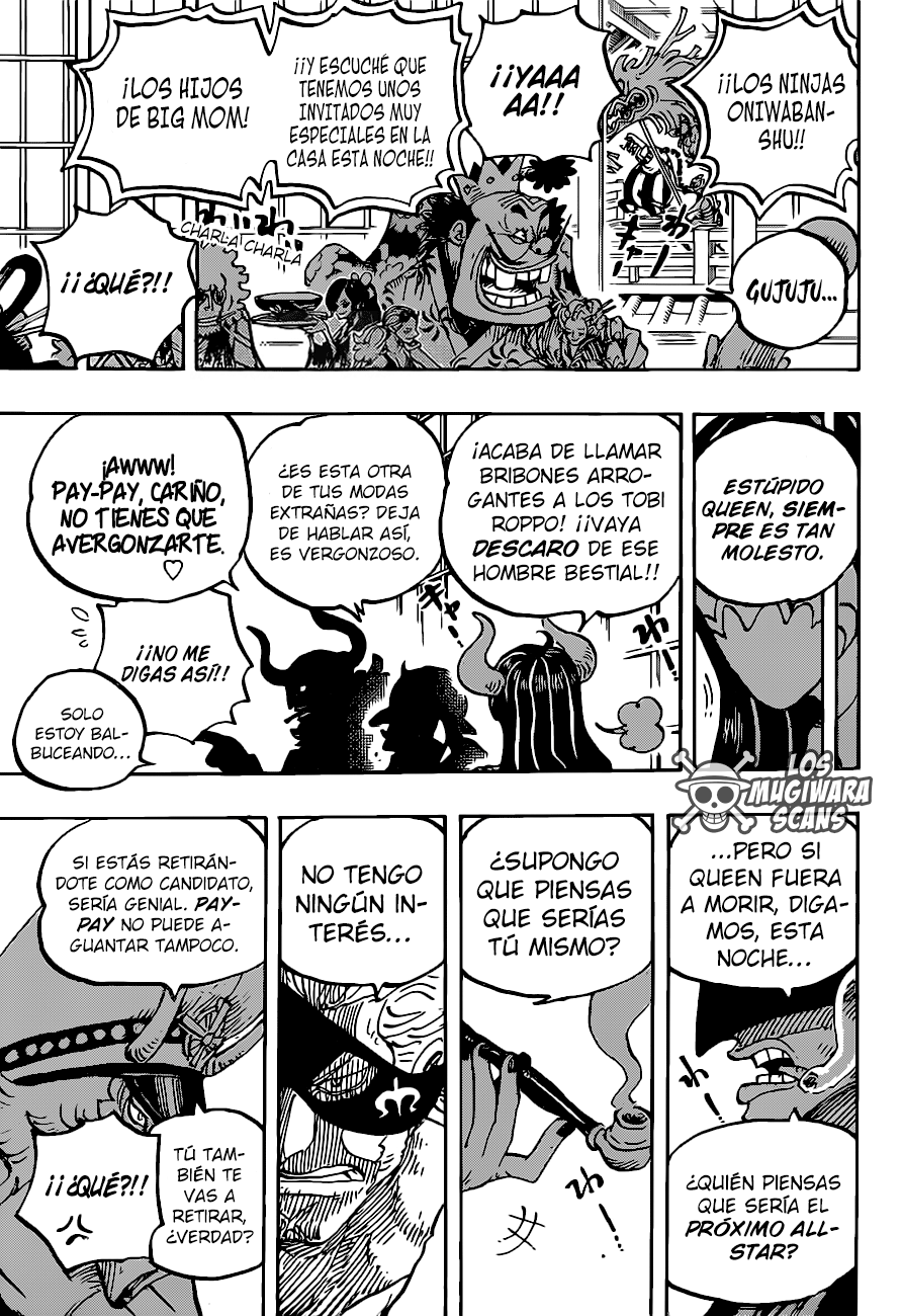 One Piece Manga 980-960 [Español] 13