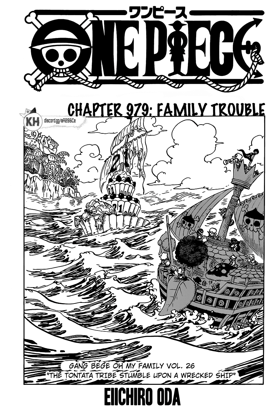 One Piece Manga 979 [Inglés] 01