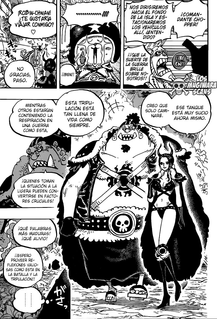 One Piece Manga 979 [Español] [Mugiwara Scans] 09
