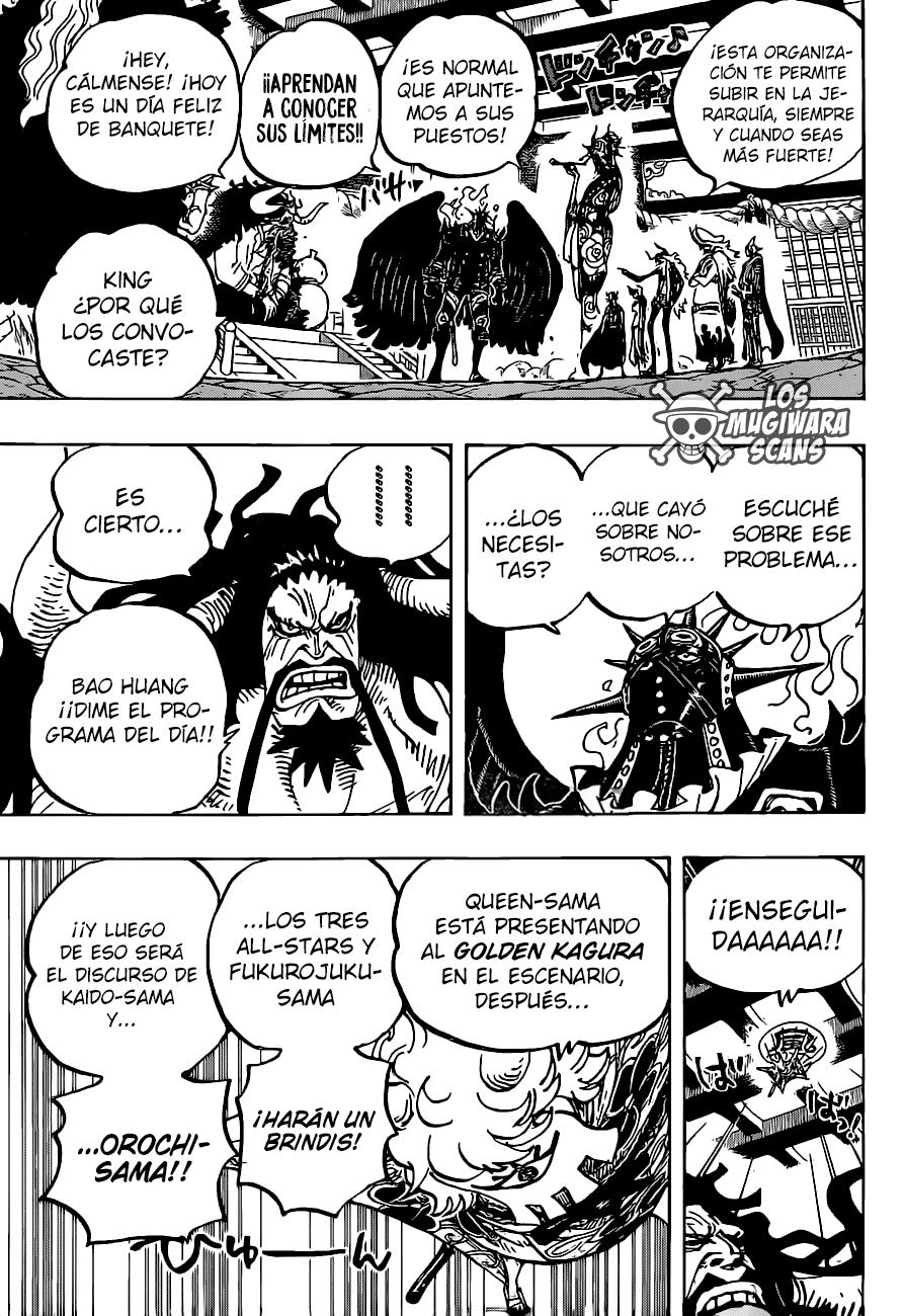 One Piece Manga 979 [Español] [Mugiwara Scans] 12