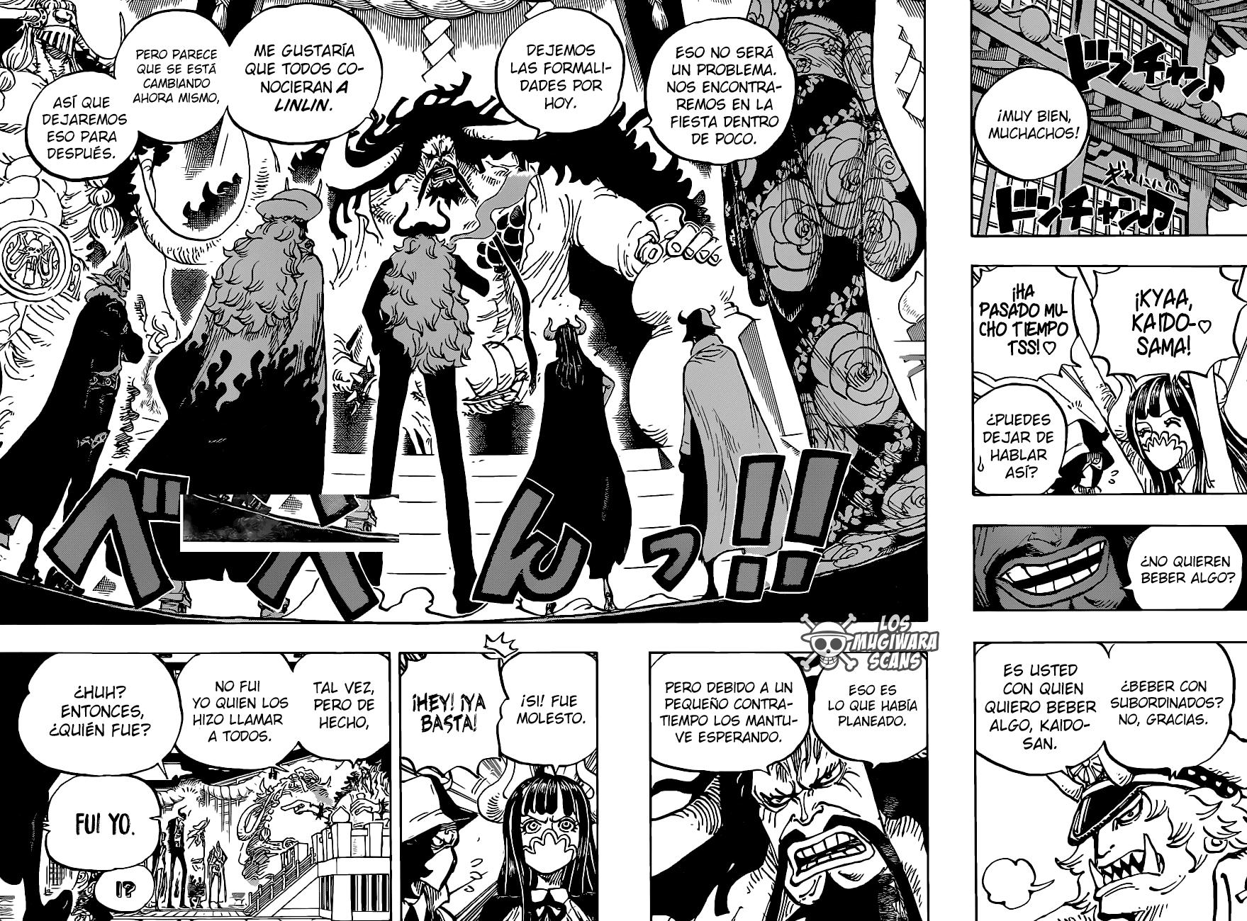 One Piece Manga 979 [Español] [Mugiwara Scans] 10