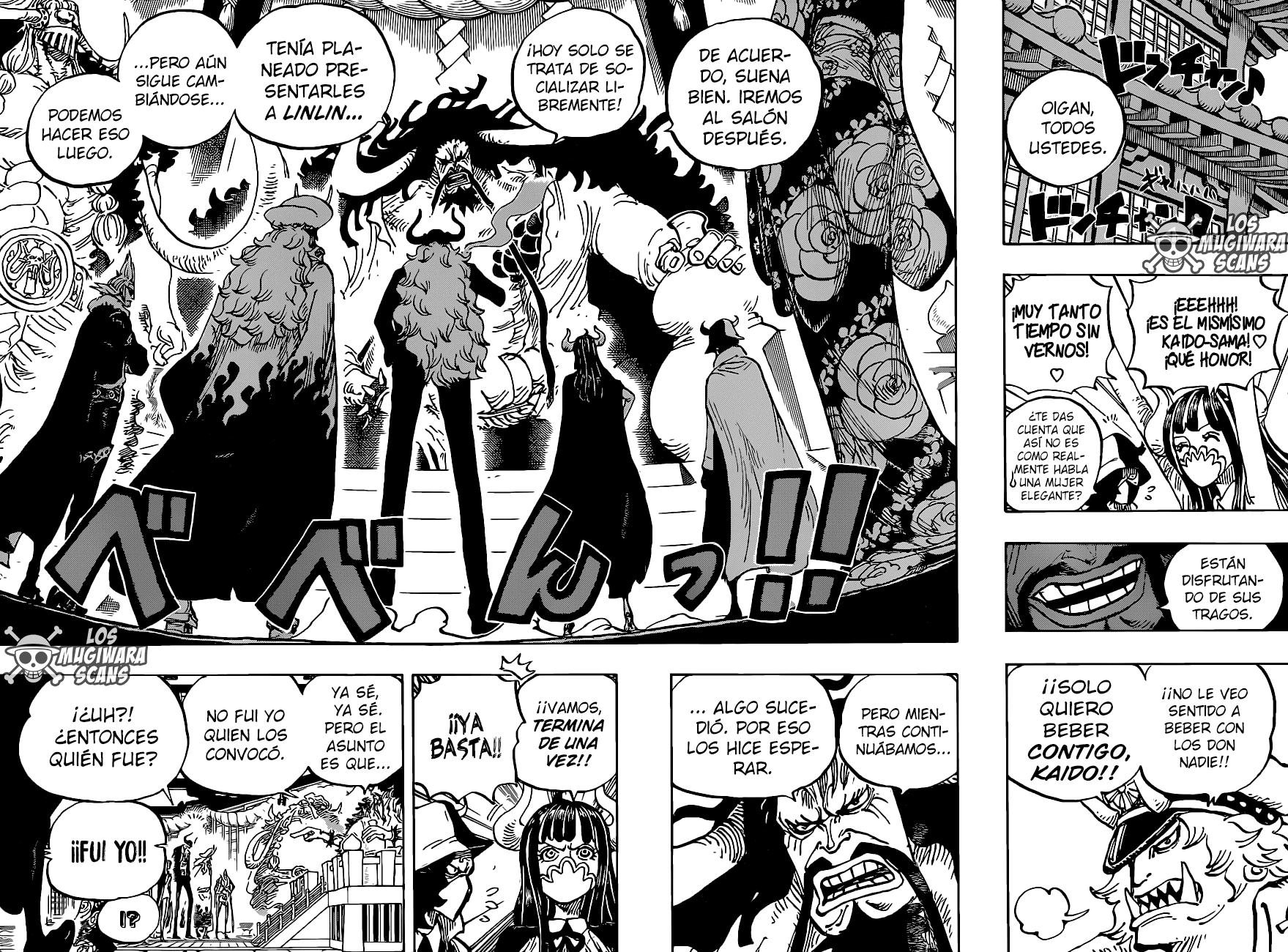 One Piece Manga 980-960 [Español] 10