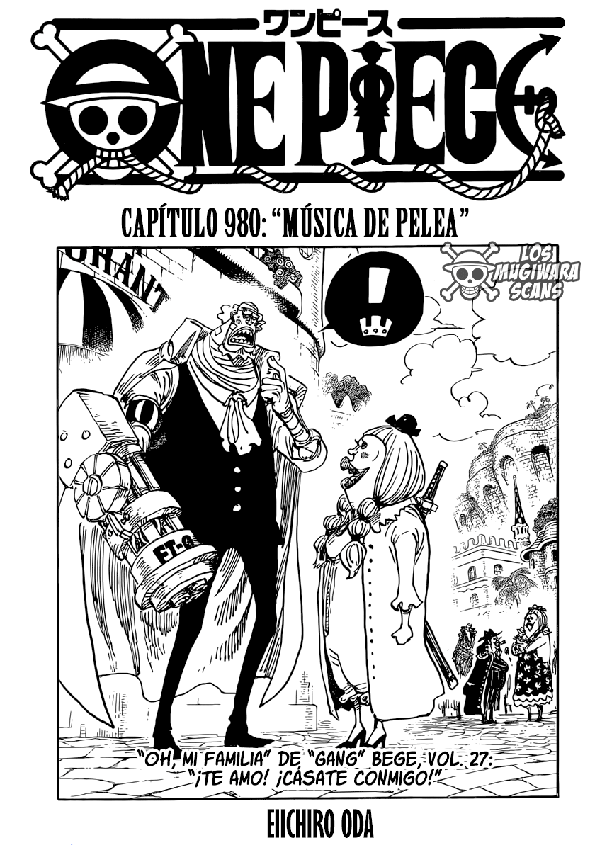 One Piece Manga 980 [Español] [Mugiwara Scans] 01