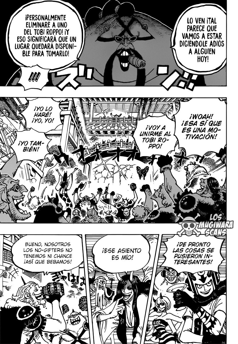 One Piece Manga 980 [Español] [Mugiwara Scans] 09