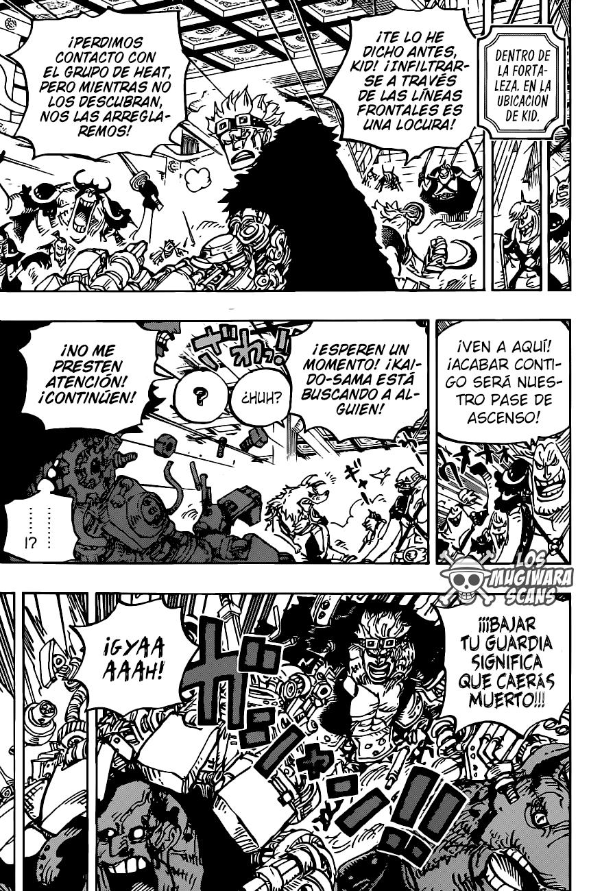 One Piece Manga 983 [Español] [Mugiwara Scans] 07