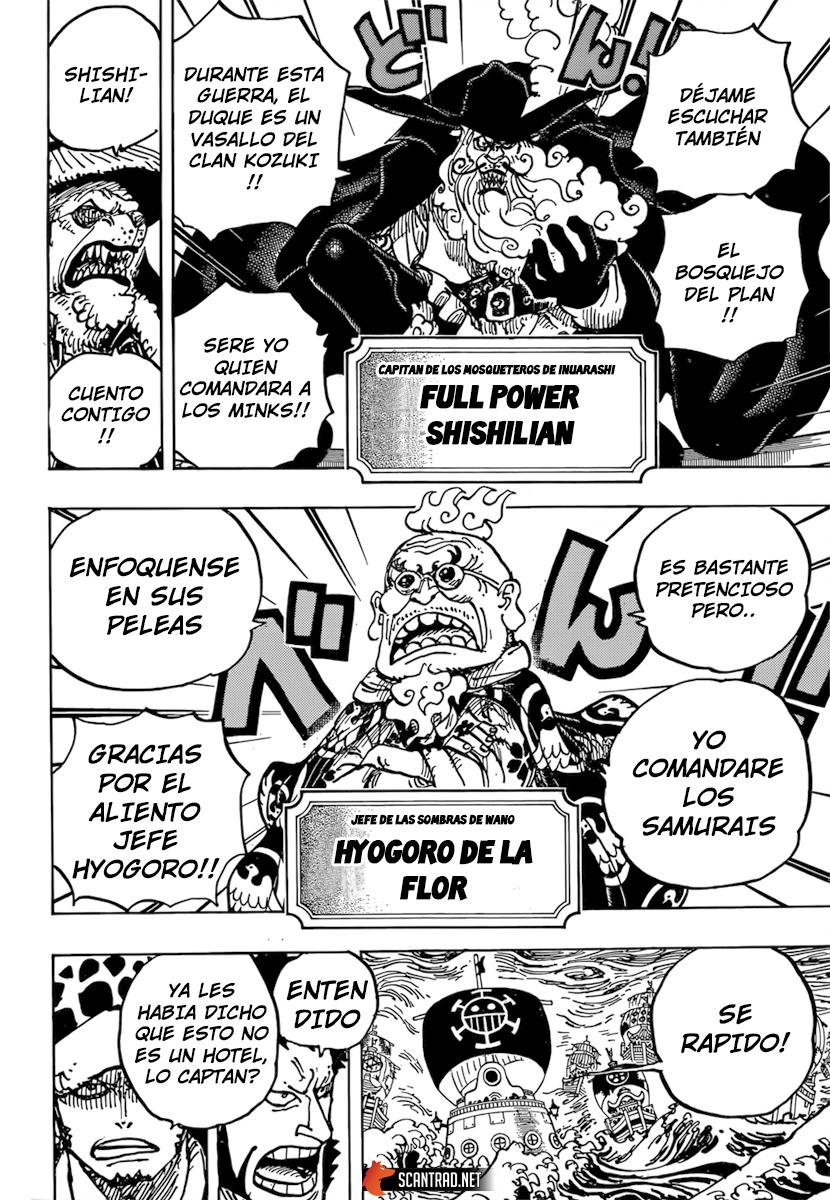 One Piece Manga 977 [Español] [OP Fans] 4