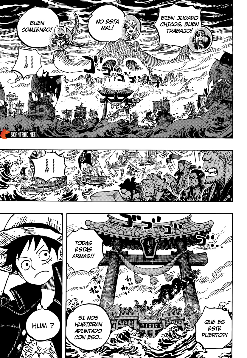 One Piece Manga 977 [Español] [OP Fans] 11