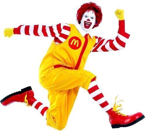 Ronald McDonald creeper Minecraft Mob Skin