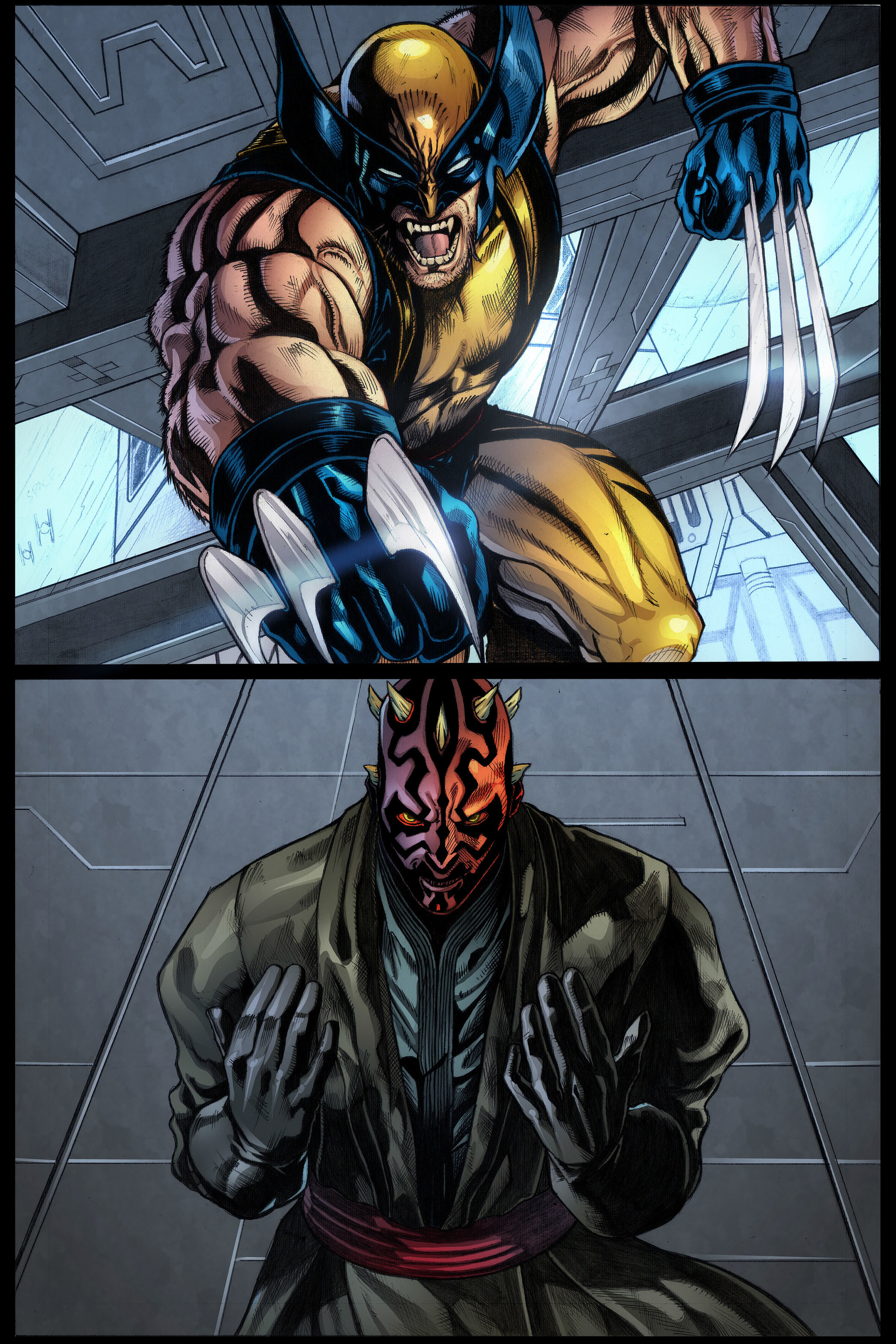 Darth Maul vs Wolverine fanfiction Wolverine-Marvel--Darth-Maul-3446883