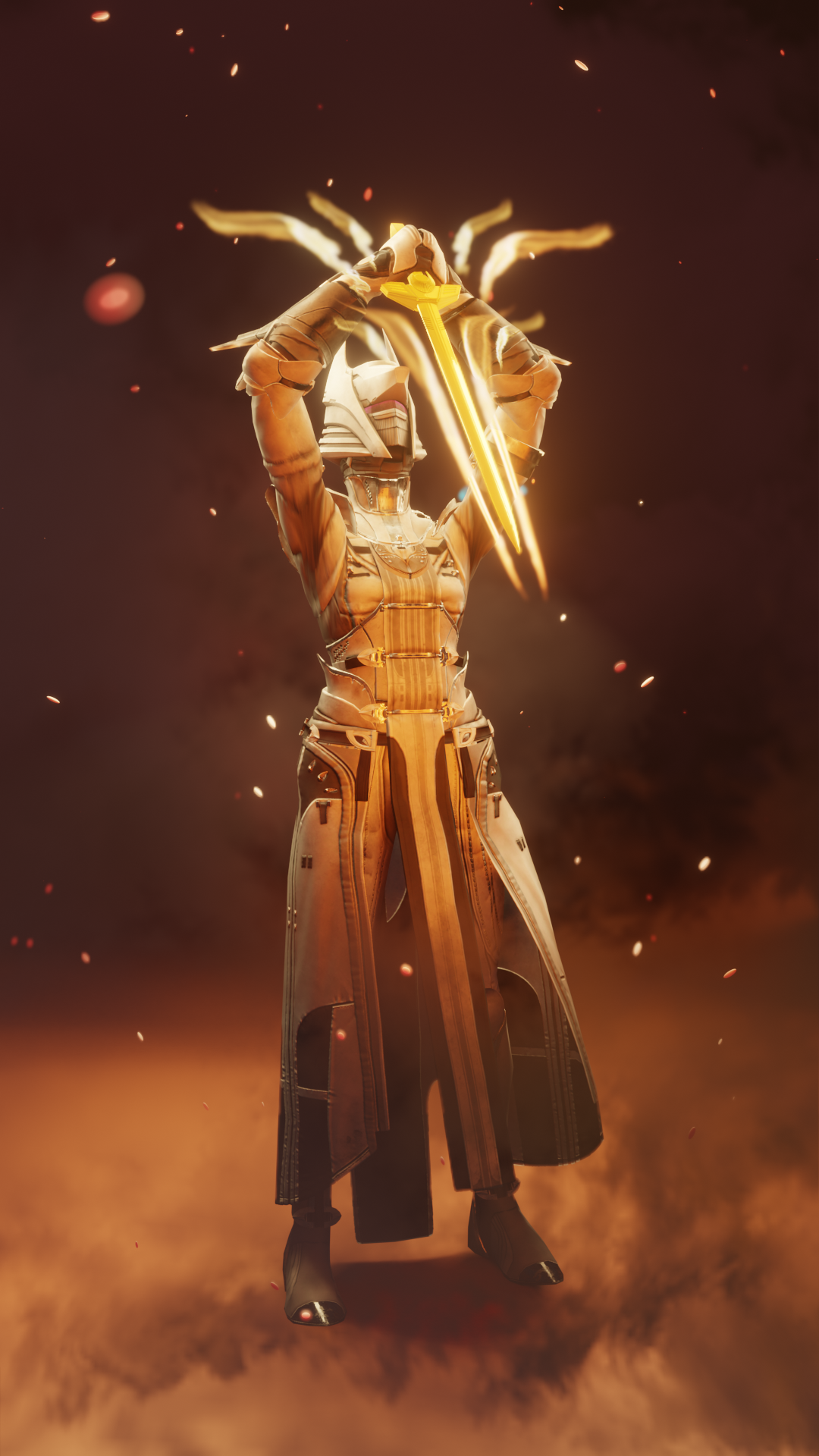 Well of Radiance Warlock 3D Render