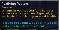 purifying waters