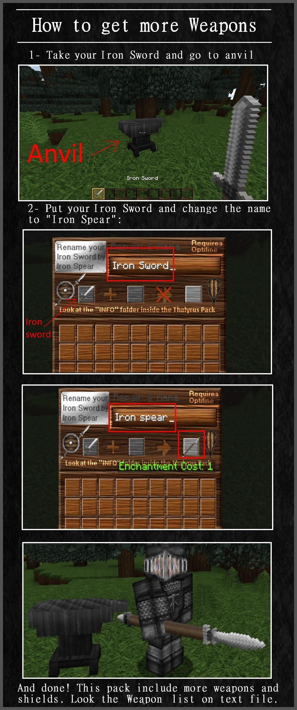 Thalyrus Medieval Warfare (1.16 to 1.8) Minecraft Texture Pack