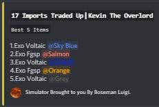 Tradeups