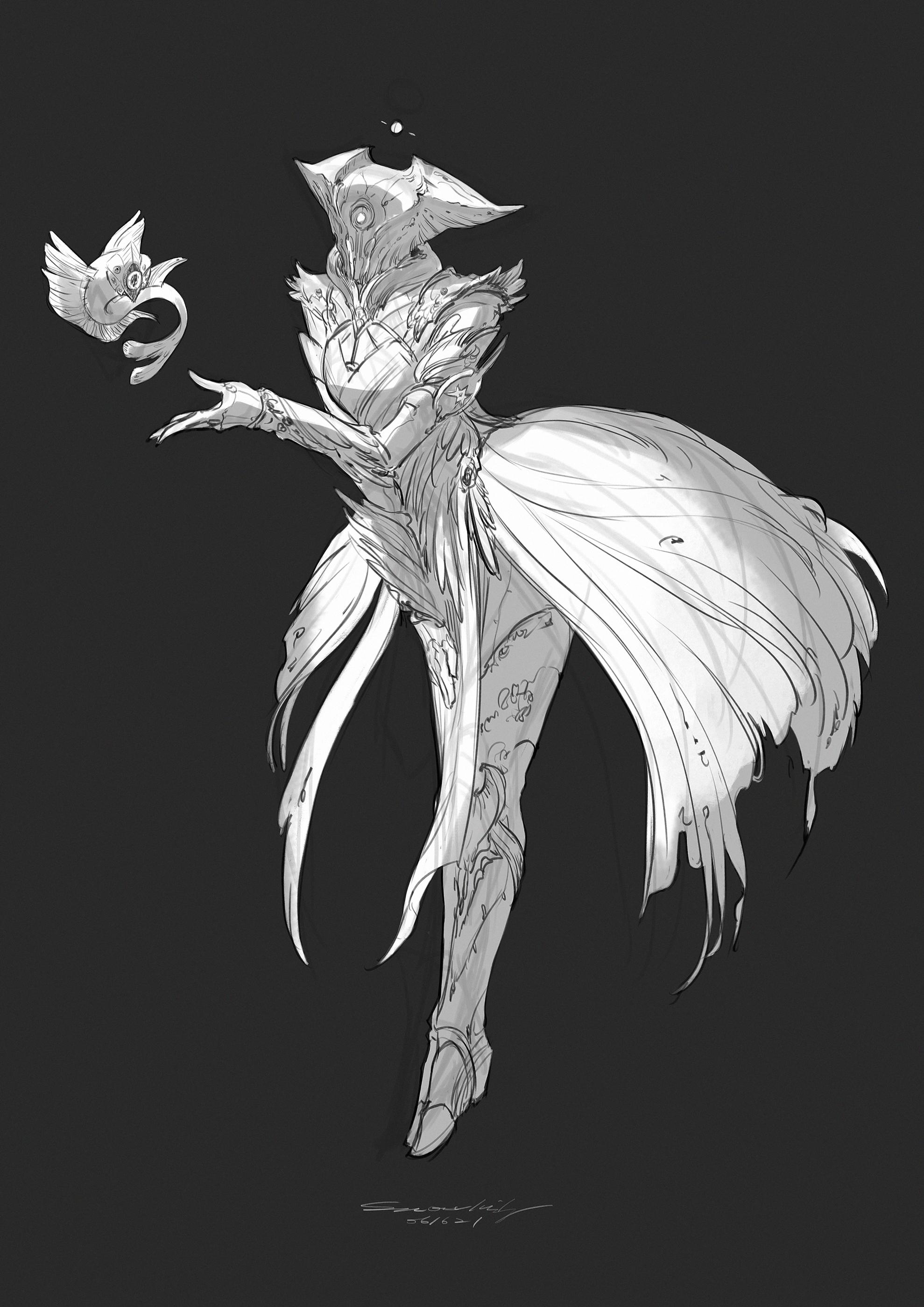 Warlock Armor Concept: Handmaiden of Savathun
