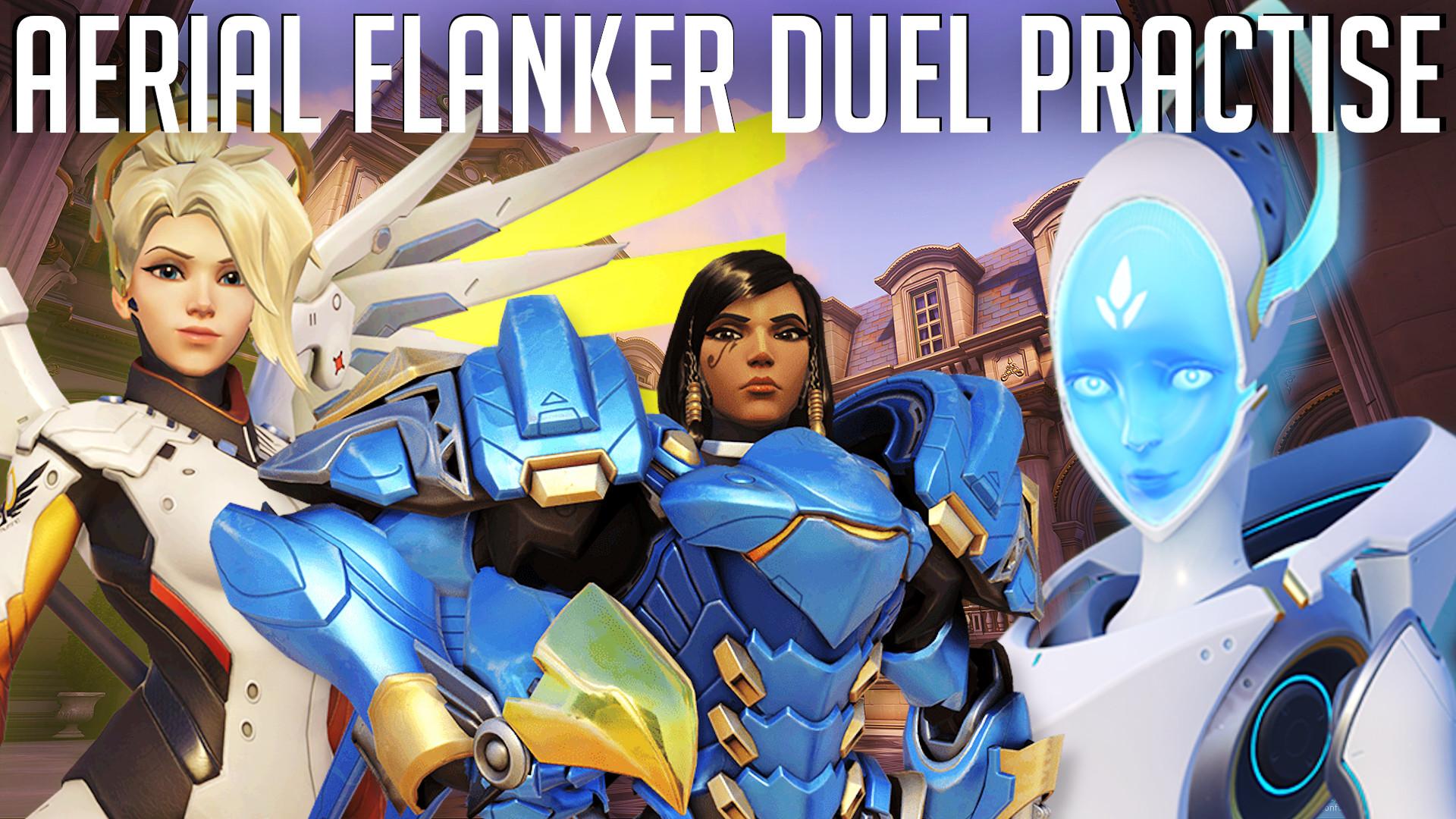 Thumbnail for Aerial Flanker Duel Practise
