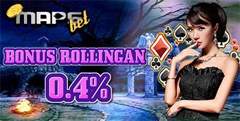 Bonus Rollingan IDNPOKER 0.4%