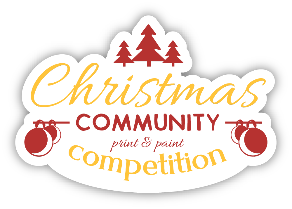Christmas Print & Paint Competition