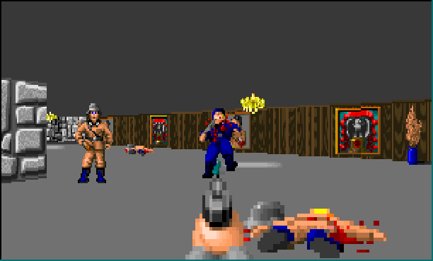 Wolfenstein 3D The Way ID Did PIC1